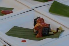 D& x27 de Hors de gourmet ; oeuvres 3 frais Photographie stock