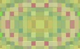 3d de kubus drijft naadloze symmetrieachtergrond uit, royalty-vrije illustratie