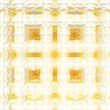 3d de kubus drijft symmetrieachtergrond, geometrisch uit ontwerp stock illustratie