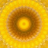 3d de kubus drijft symmetrieachtergrond, grafische illustratie uit vector illustratie