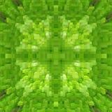 3d de kubus drijft symmetrieachtergrond, naadloze uit achtergrond royalty-vrije illustratie