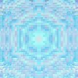 3d de kubus drijft symmetrieachtergrond, ontwerpsamenvatting uit stock illustratie