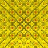 3d de kubus drijft symmetrieachtergrond, textuurillustratie uit vector illustratie