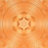 3d de kubus drijft symmetrieachtergrond, textuurornament uit stock illustratie