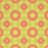 3d de kubus drijft symmetrieachtergrond uit, geeft de samenvatting terug royalty-vrije illustratie