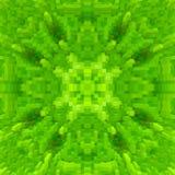 3d de kubus drijft symmetrieachtergrond uit, herhaalt de achtergrond vector illustratie