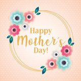 D?a de madres feliz libre illustration