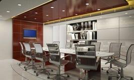 3d de ruimte van de conferentie Royalty-vrije Stock Fotografie
