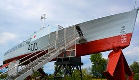 D'Or de soutiens-gorge de HMCS Photographie stock