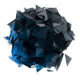 3d de structuur geeft computergrafiek CG terug Kristalillustratie van de reeks Meer in mijn portefeuille Stock Afbeeldingen