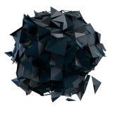 3d de structuur geeft computergrafiek CG terug Kristalillustratie van de reeks Meer in mijn portefeuille Stock Fotografie