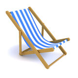 3d Deckchair Stock Photos