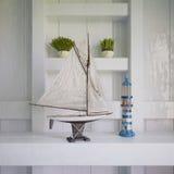 3d - decoración marítima - 02 tirados Imágenes de archivo libres de regalías