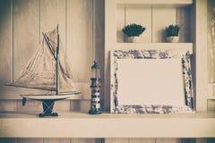 3d - decoración marítima - 03 tirados Foto de archivo libre de regalías