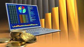 3d del computer Immagini Stock