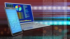 3d del computer Fotografia Stock