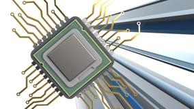 3d del CPU Immagine Stock Libera da Diritti