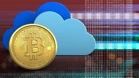 3d delle nuvole Immagini Stock Libere da Diritti