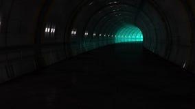 Futuristic corridor Stock Images