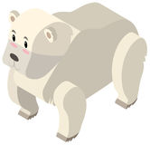 3D design for polar bear Stock Photo