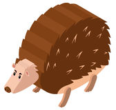 3D design for porcupine. Illustration Stock Images