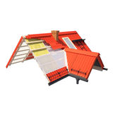 3d design of roofs. Civil engineering and architectural drawings, designs and tools Stock Images