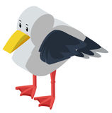 3D design for seagull Stock Image