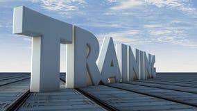 Trainig Stock Image