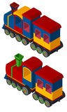 3D design for trains Stock Image