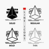 3d designen, formgivare, skissar, hjälpmedelsymbolen i tunn, vanlig djärv linje och skårastil ocks? vektor f?r coreldrawillustrat vektor illustrationer