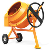 3d detailed cement mixer Stock Photo