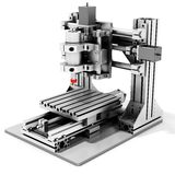3d detailed cutter CNC router metallic Royalty Free Stock Image