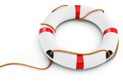 3d detailed lifebuoy Stock Image