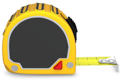 3d detailed tape measure Royalty Free Stock Images
