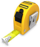 3d detailed tape measure Royalty Free Stock Photos