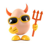 3d Devil egg Royalty Free Stock Image