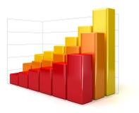 3d diagram (ścinek ścieżka zawierać) Fotografia Stock