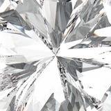 3D diamant van de halfedelsteen dure juwelen van het illustratiegezoem macro Royalty-vrije Stock Foto