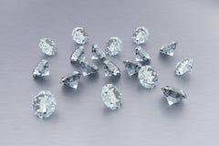 3D Diamanten Stock Foto
