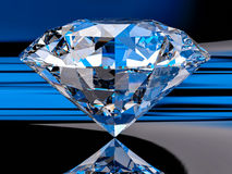 3d Diamond Background Image stock