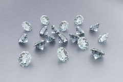 3D Diamonds Stock Photo