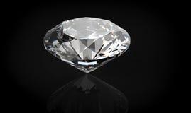 3D diamonds render. Jewelry gemstone Stock Image