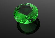 3D diamonds render. Jewelry gemstone Royalty Free Stock Images