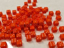 3d dices image royalty free stock photos