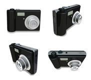 3D Digital camera icon. 3D Icon Design Series. Stock Photo