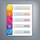 3D digital illustration Infographic. Abstract 3D digital illustration Infographic for Print or Web vector illustration
