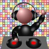 3d DJ stock de ilustración