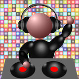 3D DJ Royalty Free Stock Images