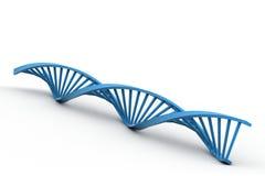 3d DNA-bundel Royalty-vrije Stock Foto's