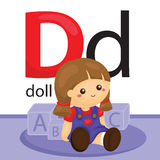 D for Doll Royalty Free Stock Photos